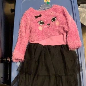dress with half too sweater